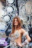 Desfile de carnaval principal del Las Palmas Foto de archivo