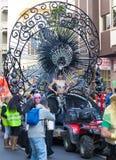 Desfile de carnaval principal del Las Palmas Imagen de archivo