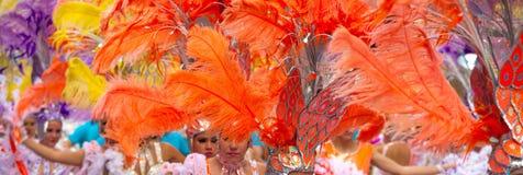 Desfile de carnaval principal del Las Palmas Imágenes de archivo libres de regalías
