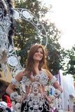 Desfile de carnaval principal del Las Palmas Imagen de archivo libre de regalías