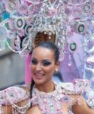 Desfile de carnaval principal del Las Palmas Fotos de archivo