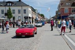 Desfile de Chevrolet Corvette Fotografía de archivo libre de regalías