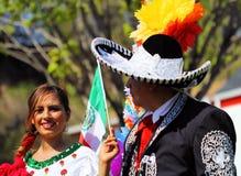 Desfile de Cinco de Mayo imagen de archivo libre de regalías