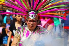 Desfile de Cinco de Mayo imagenes de archivo