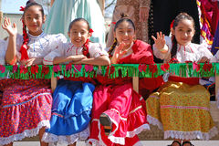 Desfile de Cinco de Mayo Fotografía de archivo libre de regalías