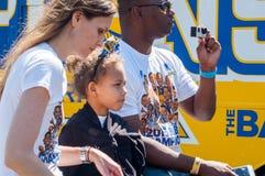 Desfile de 2015 de NBA guerreros del campeonato Fotografía de archivo libre de regalías