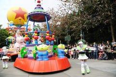 Desfile de Disney en Hong-Kong Imagen de archivo