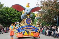Desfile de Disney en Hong-Kong Foto de archivo libre de regalías