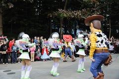 Desfile de Disney en Hong-Kong Fotos de archivo libres de regalías