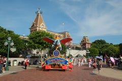 Desfile de Disneylandya Imagenes de archivo