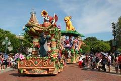 Desfile de Disneylandya Foto de archivo libre de regalías