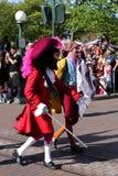 Desfile de Disneylandya París Fotos de archivo libres de regalías