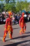 Desfile de Disneylandya París Imagenes de archivo