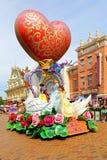 Desfile de hadas de los caracteres de Disneyland Foto de archivo libre de regalías