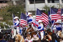 Desfile de Houston Livestock Show y del rodeo Fotografía de archivo libre de regalías