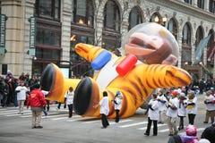 Desfile de la acción de gracias de Chicago Foto de archivo libre de regalías