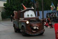 Desfile de la aventura de California de Disney Fotos de archivo