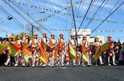 Desfile de la calle Imagen de archivo libre de regalías