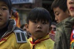 Desfile de la celebración del Año Nuevo chino, año del perro Fotografía de archivo