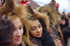 Desfile 2 de la danza del oso fotos de archivo