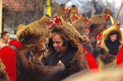 Desfile 17 de la danza del oso foto de archivo libre de regalías