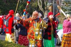 Desfile 9 de la danza del oso foto de archivo libre de regalías