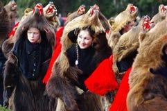Desfile 5 de la danza del oso fotos de archivo libres de regalías