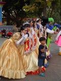 Desfile de la fantasía de Halloween, Bangkok, Tailandia fotografía de archivo libre de regalías