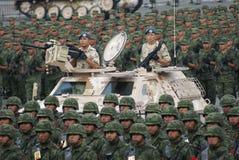 Desfile de la independencia de México Imagen de archivo