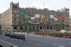 Desfile de la independencia de México Imagenes de archivo