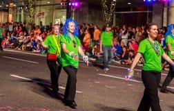 Desfile 2015 de la luz de las estrellas de Portland Fotos de archivo libres de regalías