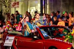 Desfile 2015 de la luz de las estrellas de Portland Fotografía de archivo