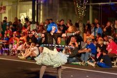 Desfile 2015 de la luz de las estrellas de Portland Imagenes de archivo