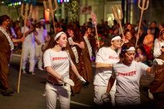 Desfile 2015 de la luz de las estrellas de Portland Fotos de archivo