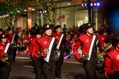 Desfile 2015 de la luz de las estrellas de Portland Foto de archivo libre de regalías