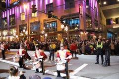 Desfile de la Navidad Foto de archivo