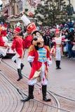 Desfile de la Navidad de Disney Fotos de archivo libres de regalías