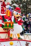 Desfile de la Navidad de Disney Imágenes de archivo libres de regalías