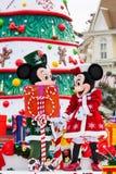 Desfile de la Navidad de Disney Foto de archivo libre de regalías