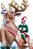 Desfile de la Navidad de Disney Fotografía de archivo