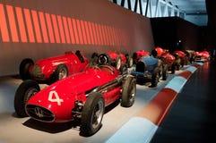 Desfile de la raza en Museo Nazionale dell'Automobile Foto de archivo libre de regalías