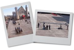 Desfile de la reina Imagenes de archivo