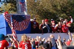 Desfile de la serie de mundo de Phillies 2008 Fotografía de archivo libre de regalías