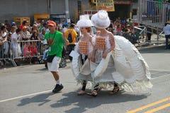 Desfile de la sirena fotos de archivo