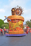 Desfile de la tierra de Disney Fotografía de archivo libre de regalías