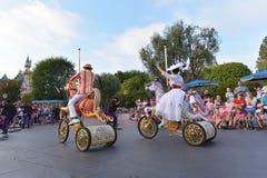 Desfile de la tierra de Disney Imagen de archivo libre de regalías