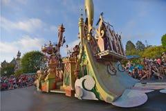 Desfile de la tierra de Disney Imagenes de archivo