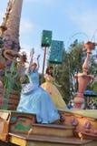 Desfile de la tierra de Disney Fotos de archivo