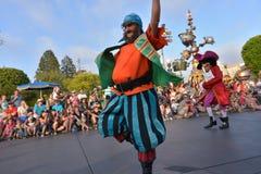 Desfile de la tierra de Disney Foto de archivo libre de regalías