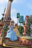 Desfile de la tierra de Disney Imágenes de archivo libres de regalías